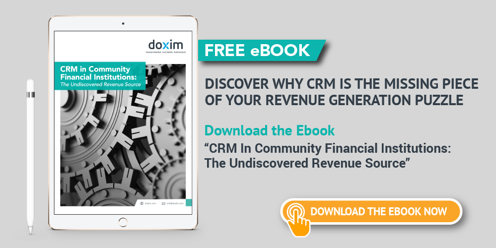 Doxim contactcenterworld blog to learn more about how crm pays its own way for community banks check our free ebook crm in community financial institutions the undiscovered revenue fandeluxe Gallery